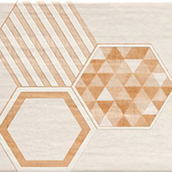 Hexagonal Beige