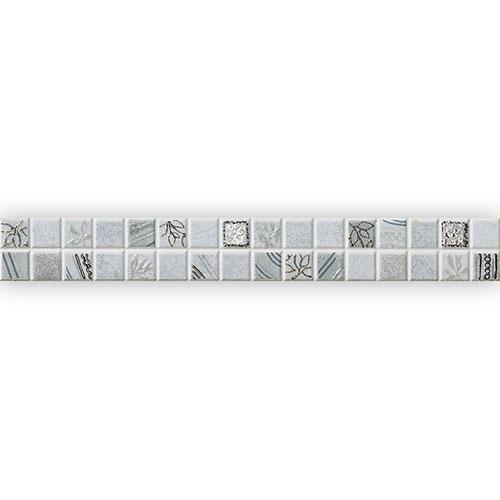 Listello Mosaico Grigio