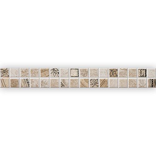 Listello Mosaico Tortora