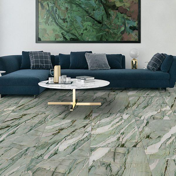 Marble mint gres effetto marmo ambientazione