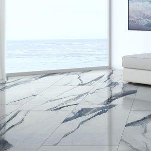 gres effetto marmo blu oceanic